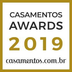 Frisson recebe prêmio Casamentos Awards 2019